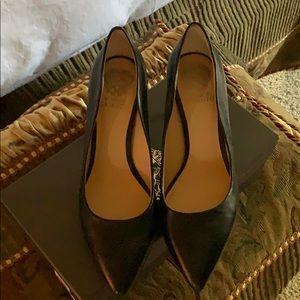 Shoes - Vince Camuto black leather pumps